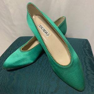 Escada Evening Shoes - Green